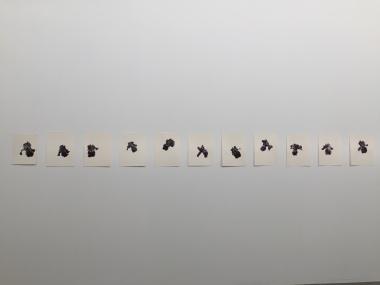 Patrick Neu, Série - Iris, 2006-2013, Aquarelle sur papier