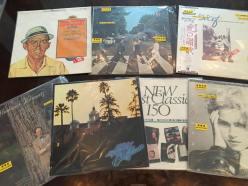Les disques vinyles classiques (l'édition de collectionneurs)