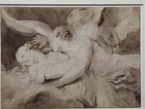 Jean-Honoré Fragonard, Psyché et lÁmour, vers 1780
