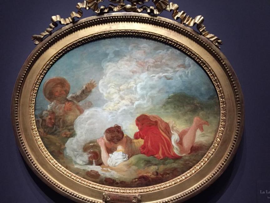 Jean-Honoré Fragonard, La Laitière et le pot au lait, vers 1768?