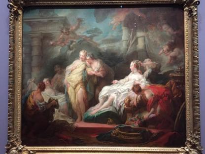 Jean-Honoré Fragonard, Psyché montre à ses sœurs les présents qu'elle a reçus de l'Amour, 1753-1754