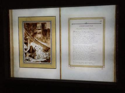 L'intégralité des 57 Contes de La Fontaine illustrés par Fragonard est accessible en ligne