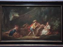 Jean-Honoré Fragonard, Le Jeu de la palette, vers 1757-1759