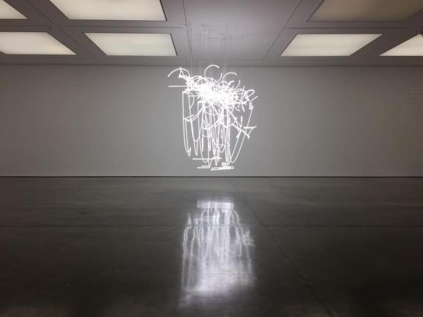 Cerith Wyn Evans, Neon Forms (after Noh I), 2015