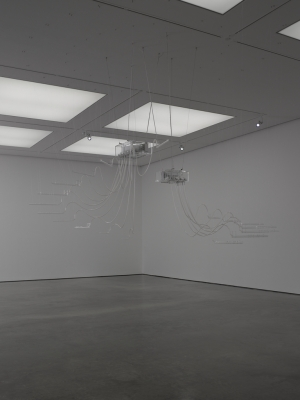 Cerith Wyn Evans, Composition of 19 flutes, 2015 © White Cube