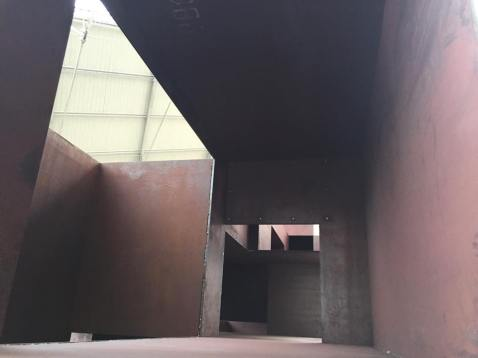 Antony Gormley, Vessel, 2012 (detail)