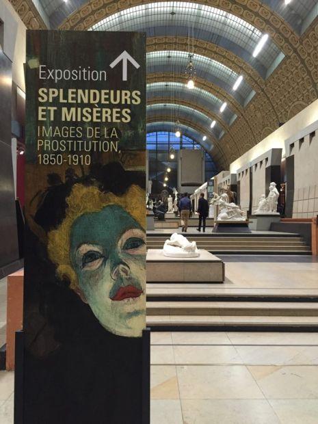 Exposition: Splendeurs et misères. Images de la prostitution, 1850-1910. Musée d'Orsay, Paris.