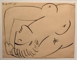 Œuvre dans l'exposition Picasso chez Delacroix