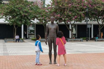 Outside City Hall Memorial Garden (Source: © Antony Gormley's Official Website)