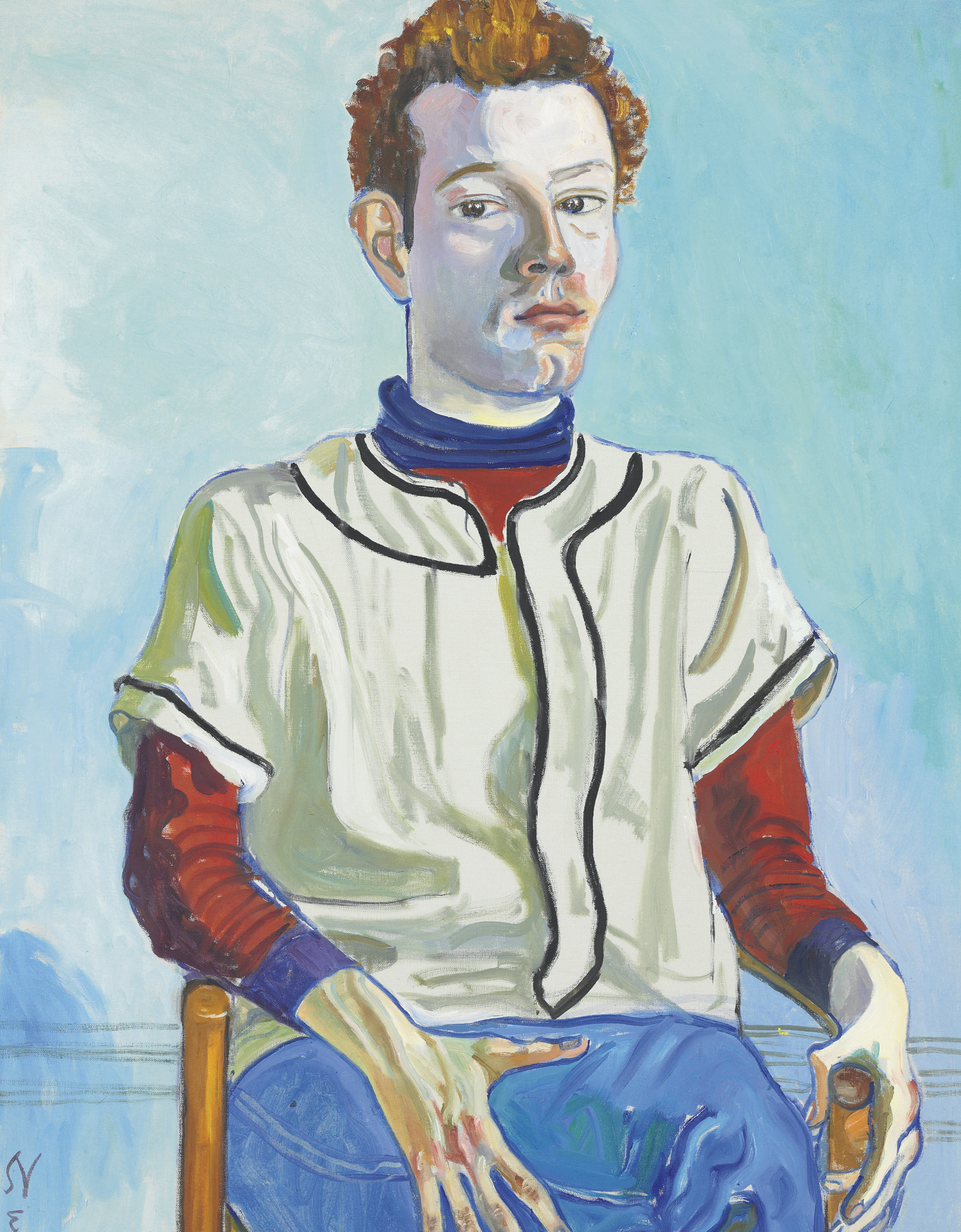 Alice Neel (1900-1984), Jackie Curtis as a Boy, 1972